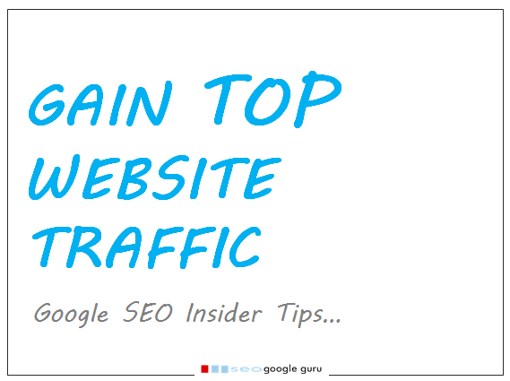 Website Traffic – Insider Google SEO Tip