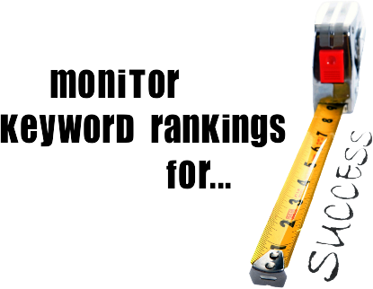 Monitor keyword rankings