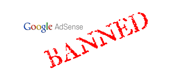 google-adsense-ban